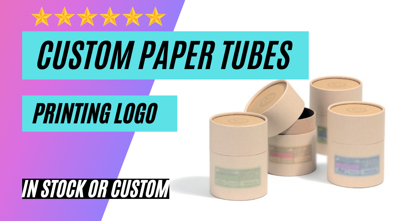 Custom Paper Tubes Packaging Cardboard Cylinder