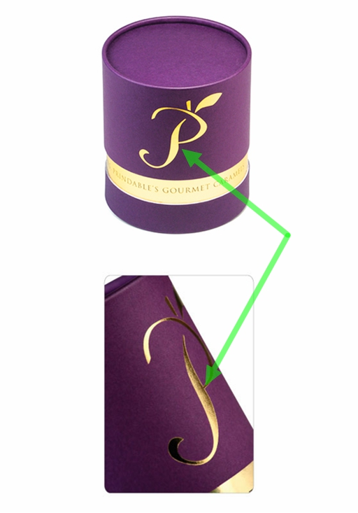Cosmetic gold foil tube packaging