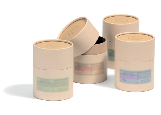 Kraft Paper cylinder box packaging