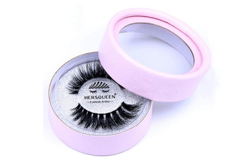 Cardboard tubes for eyelash packaging in cosmetic