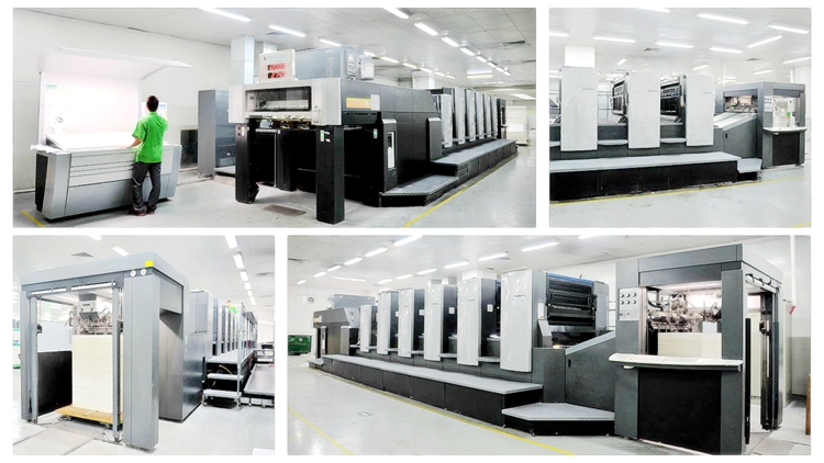 Heidelberg 5-color offset printing machine