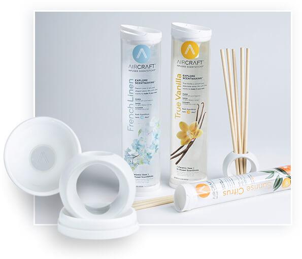 Plastic tube packaging is used in household goods