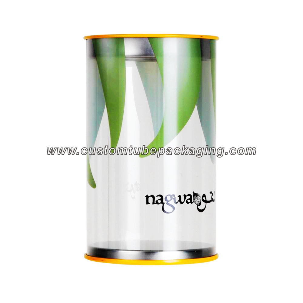 Clear Plastic Cylinder Tube