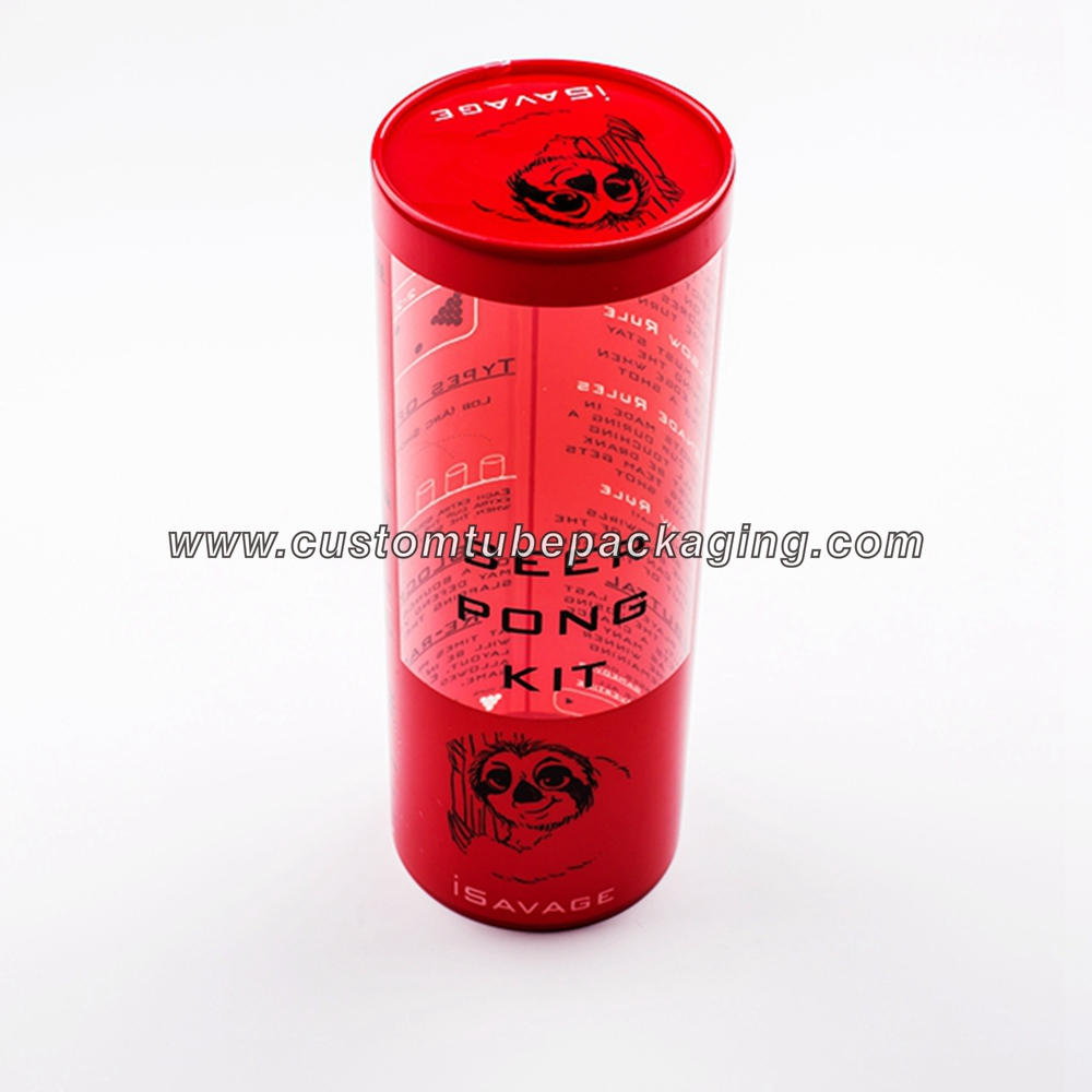plastic cylinder tubes for candy