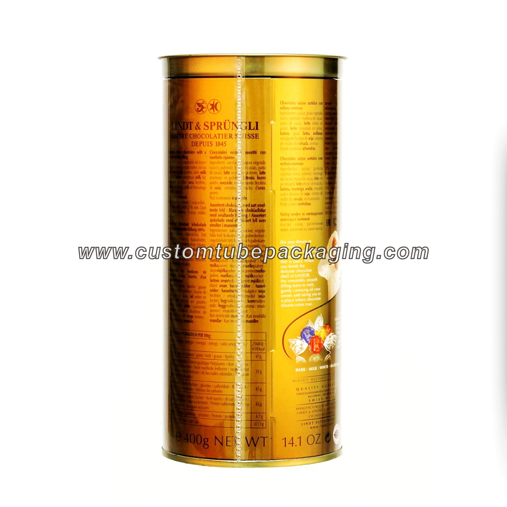 Round plastic tube packaging