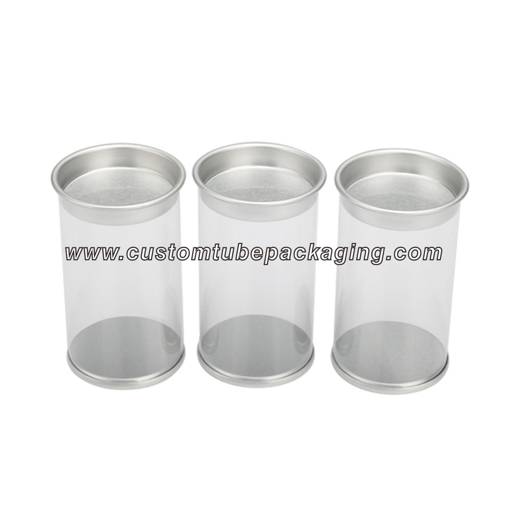 Plastic tube packaging for food