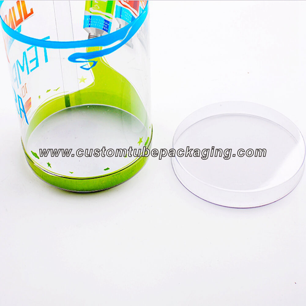 Plastic tube Containers with Screw on lids