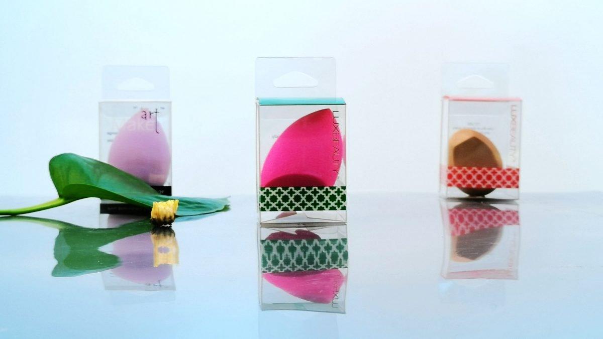 beauty sponge packaging